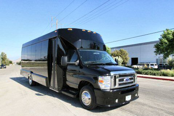 Medium Black Party Bus Long Beach