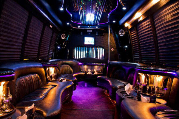 Small Party Bus Rental Long Beach