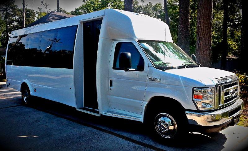 Long Beach 22 Passenger Party Bus