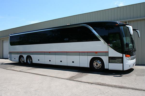 Long Beach 56 Passenger Charter Bus